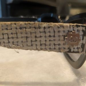 CHANEL Accessories - Chanel Tweed Sunglasses